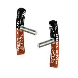 Kool Stop, Bremsbelag, MTB, CONTOURED, dual compound, 1 Paar, für Cantilever Bremsen, geklemmt, (HstNr = C1397KS)