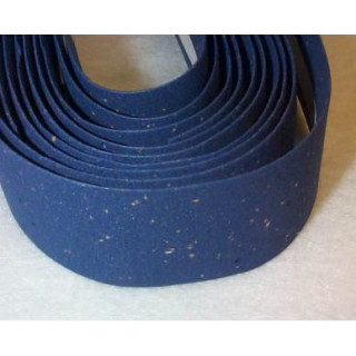 SILVA, Lenkerband, CORK, blau, Made in Italy