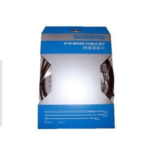 Shimano, Bremszugset vorn & hinten, MTB Inox Edelstahl
