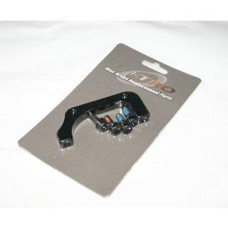 Tektro, Adapter, TRP Auriga, HR, PM-Bremse auf IS-Rahmen, 180mm