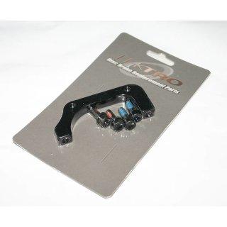 Tektro, Adapter, TRP Auriga, VR, PM-Bremse auf IS2000-GABEL, 203mm