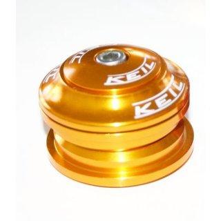 Keil, Steuersatz, semi-integriert 44mm, Cartridge Lager, GOLD