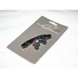 Tektro, Adapter, TRP Auriga, VR, PM-Bremse auf IS2000-GABEL, 160mm/HR 140mm