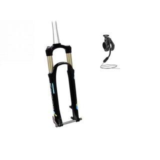 Suntour, Epicon XC 650b RL-RC 15 QLC, 27,5 Zoll, 100 mm, Remote, TAPERED, SCHWARZ, 1820g