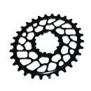 Tune, absoluteBLACK, OVAL kettenblatt, sram direct 0mm, 30T