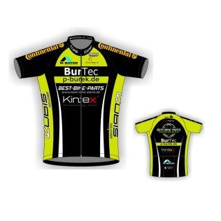Team Best-Bike-Parts/burtec, Trikot kurz, RV lang, M (3), (100 % Polyester)